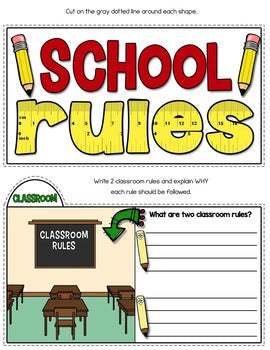 School Rules Tab-Its®
