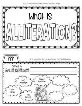 Alliteration Tab-Its® | Distance Learning