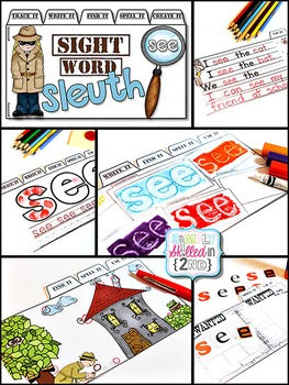 Sight Word Sleuth Tab-Its® (Bundle)