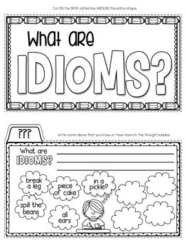 Idioms Tab-Its® | Distance Learning