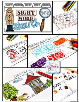 Sight Words Tab-Its® (Set 2)