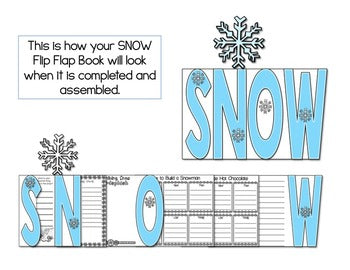 Snow Flip Flap Book®