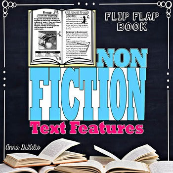 Nonfiction Text Features Flip Flap Book®