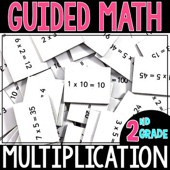 2nd Grade Guided Math Multiplication