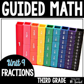 3rd Grade Guided Math Fractions