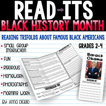 Black History Month Read-Its™ – Simply Skilled Teaching