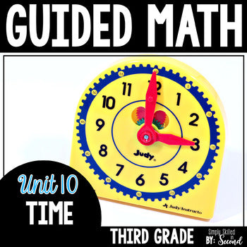 3rd Grade Guided Math Time