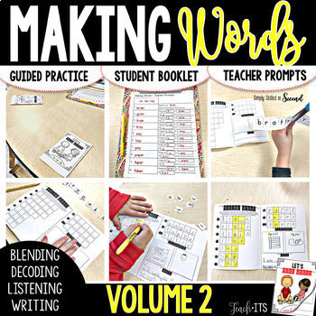 Making Words Volume 2