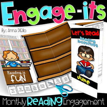 ENGAGE-ITS™   Monthly Reading Engagement Trifolds