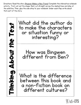 "Guided Reading  Fiction Vol. 3 ""Bingwen Makes A New Friend"""
