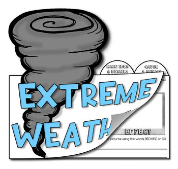 "Guided Reading NON-FICTION Vol. 6 ""Extreme Weather"""