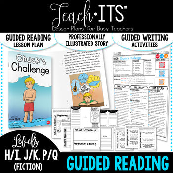 "Guided Reading Fiction Vol. 7 ""Chuck's Challenge"""