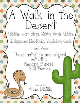 Reading Street Resources (A Walk in the Desert)