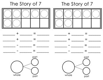 Number Sense  Story of 7
