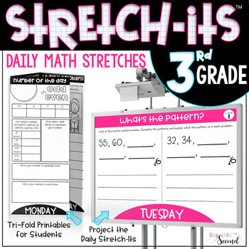 3rd Grade Math Stretch-Its