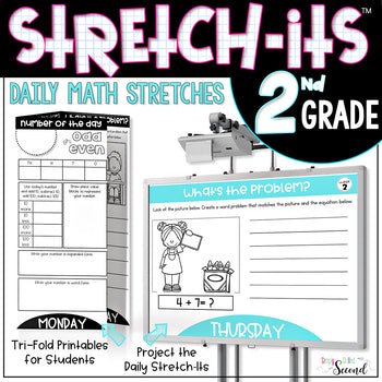 2nd Grade Math Stretch-Its™