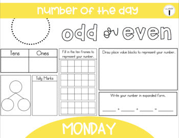 1st Grade Math Stretch-Its™