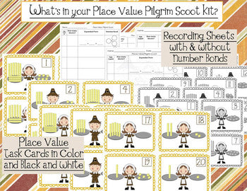 Place Value Pilgrim Scoot