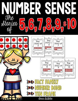 Number Sense The Stories of 5, 6, 7, 8, 9 & 10