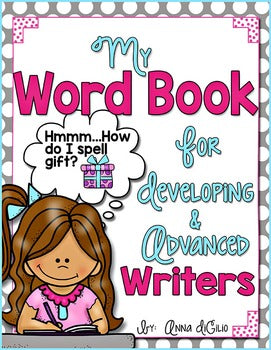 Word Book for Independent Writers