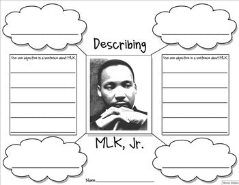 Martin Luther King Jr Craftivity