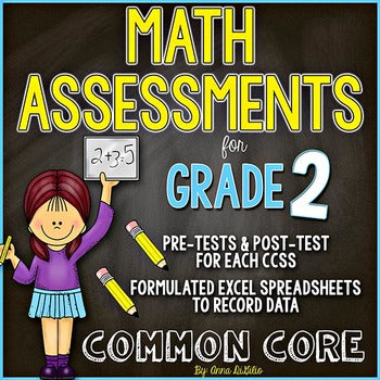2nd Grade Guided Math Assessments