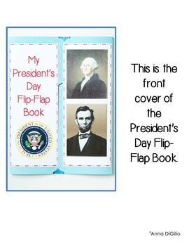 Presidents' Day Flip Flap® Lapbook