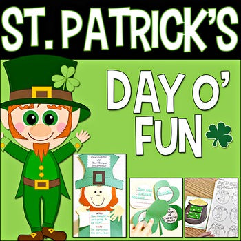 St. Patrick's Day o' Fun Literacy & Math Unit