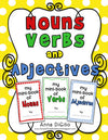 Nouns Verbs & Adjectives Mini-Books