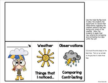 Weather Watcher Lapbook