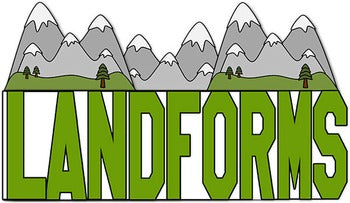 Landforms Flip Flap Book® | Distance Learning