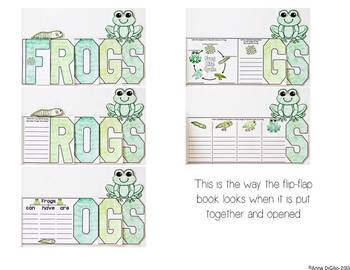 Frogs Flip Flap Book®