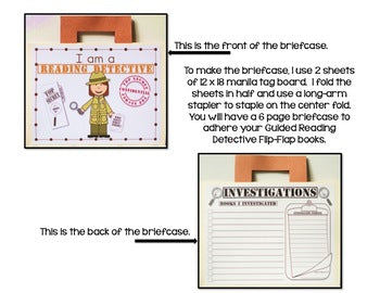 Guided Reading Detectives Flip Flap Book®