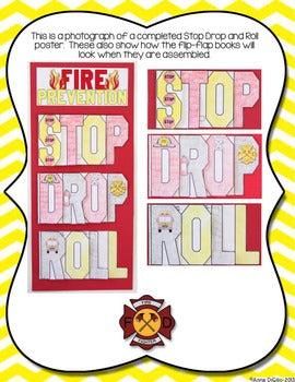 Fire Safety Flip Flap Book® | Distance Learning