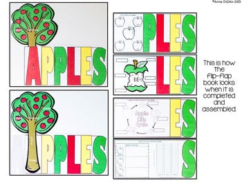 Apples Flip Flap Book® | Distance Learning