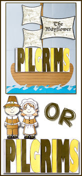 Pilgrims Flip Flap Book® | Distance Learning