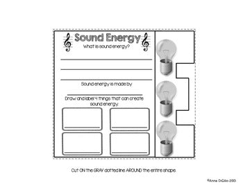 Energy Flip Flap Book® | Distance Learning