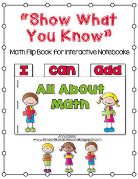 I Can Add Math Flip Flap Book® (Free)
