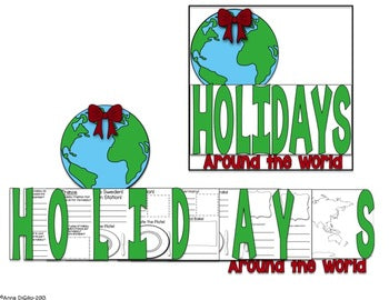Holidays Around the World Flip Flap Book®