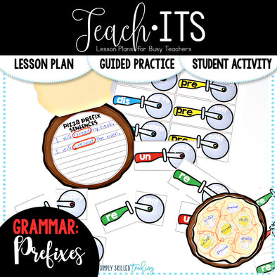 Prefixes Lesson Plan