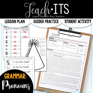 Pronouns Lesson Plan