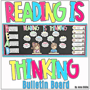 Reading is Thinking Bulletin Board Display