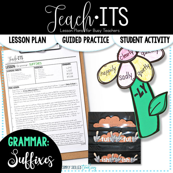Suffixes Lesson Plan