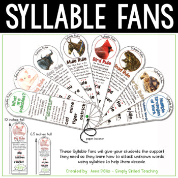 Syllable Division Fans
