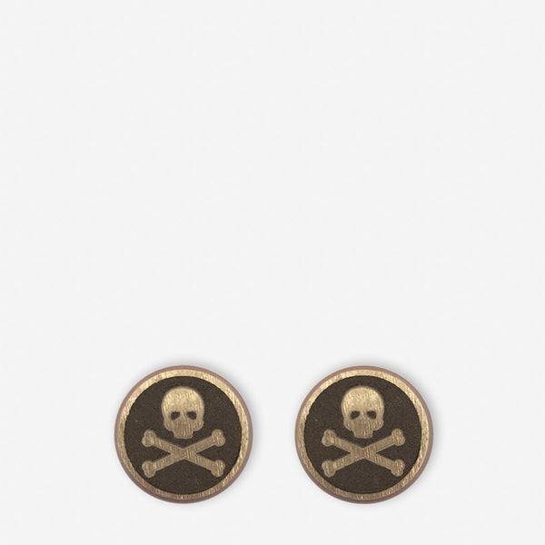 bolt pack skull and bones-aluminum-rose gold