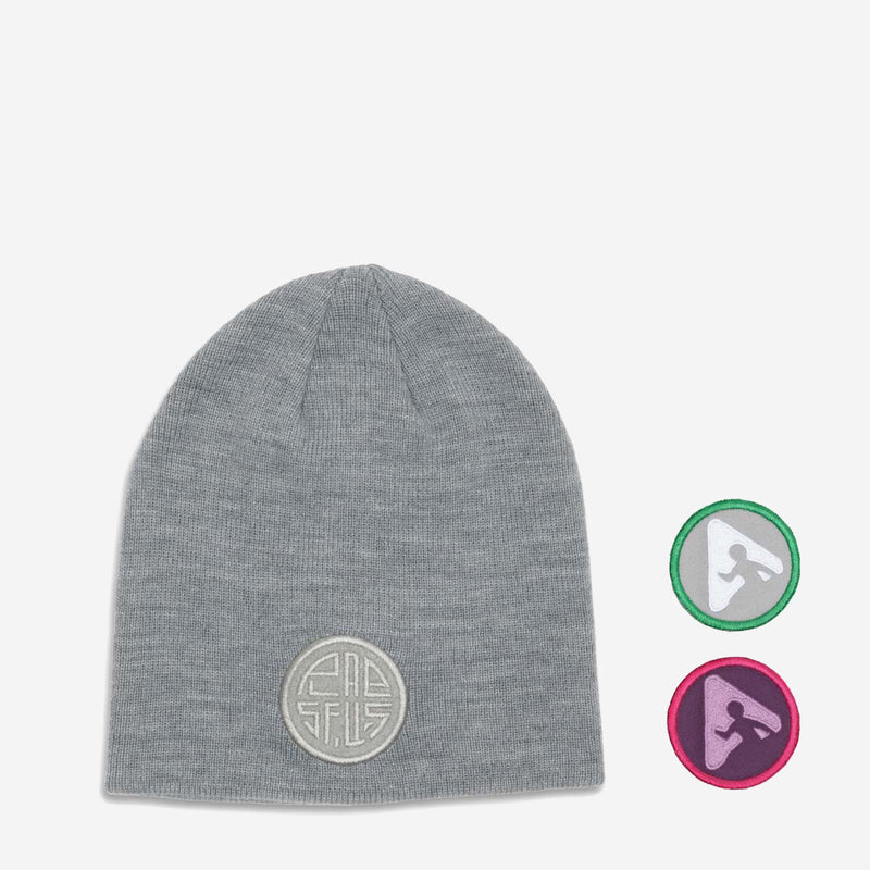 little izzy beanie - light grey