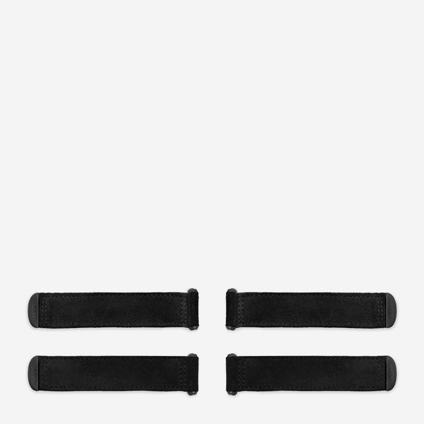 suede - black (4 pack)