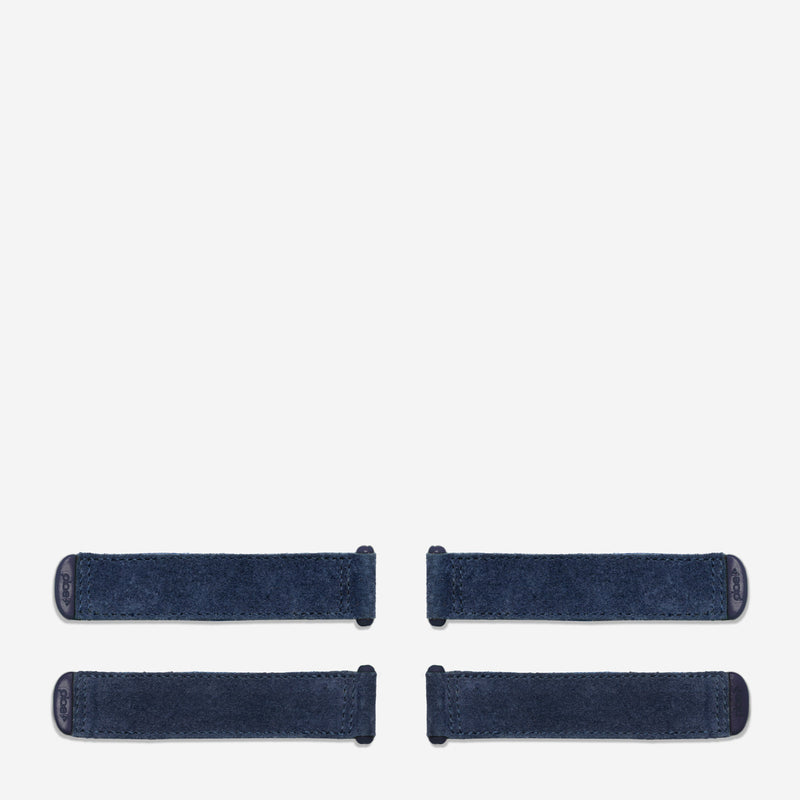 suede - navy (4 pack)