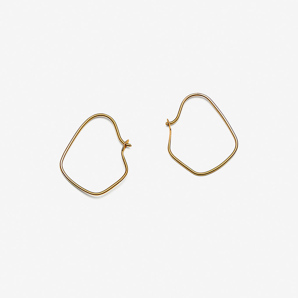Ohrringe Irregular Hoops