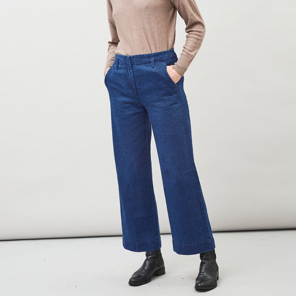 LEJA - denim Trousers